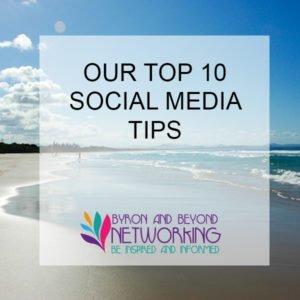 10 top social media tips